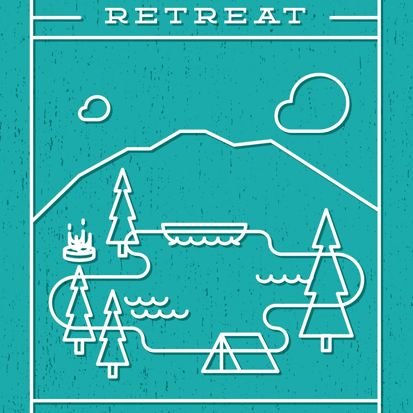Retreat Illustration