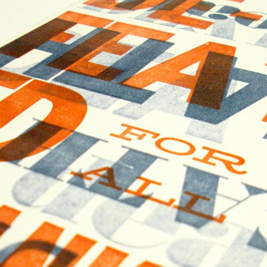 Easter Letterpress Project