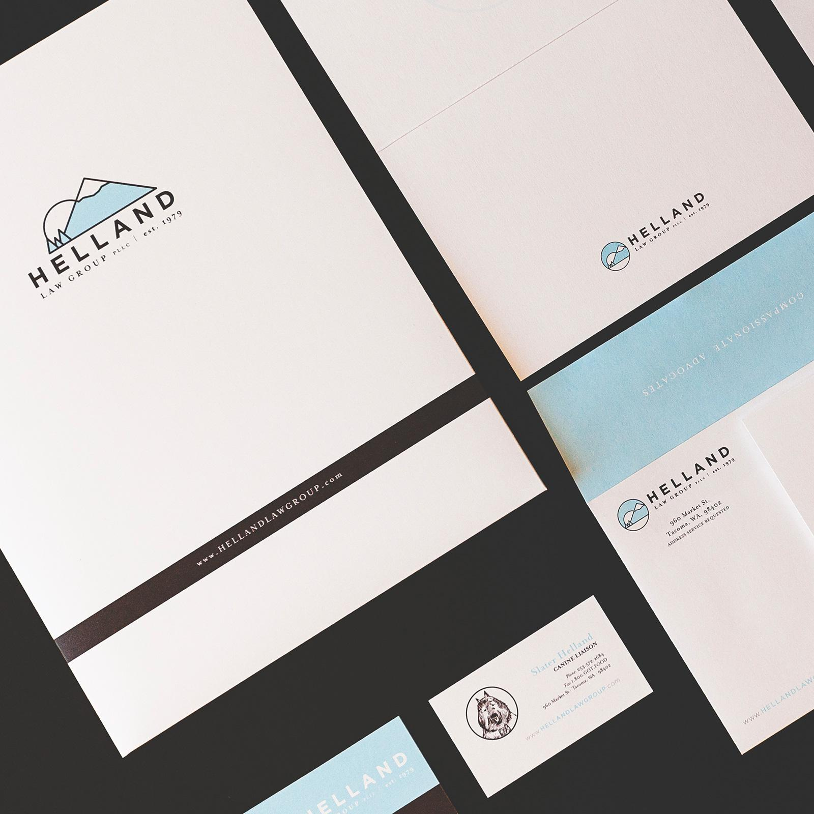 Helland Law Group Stationery