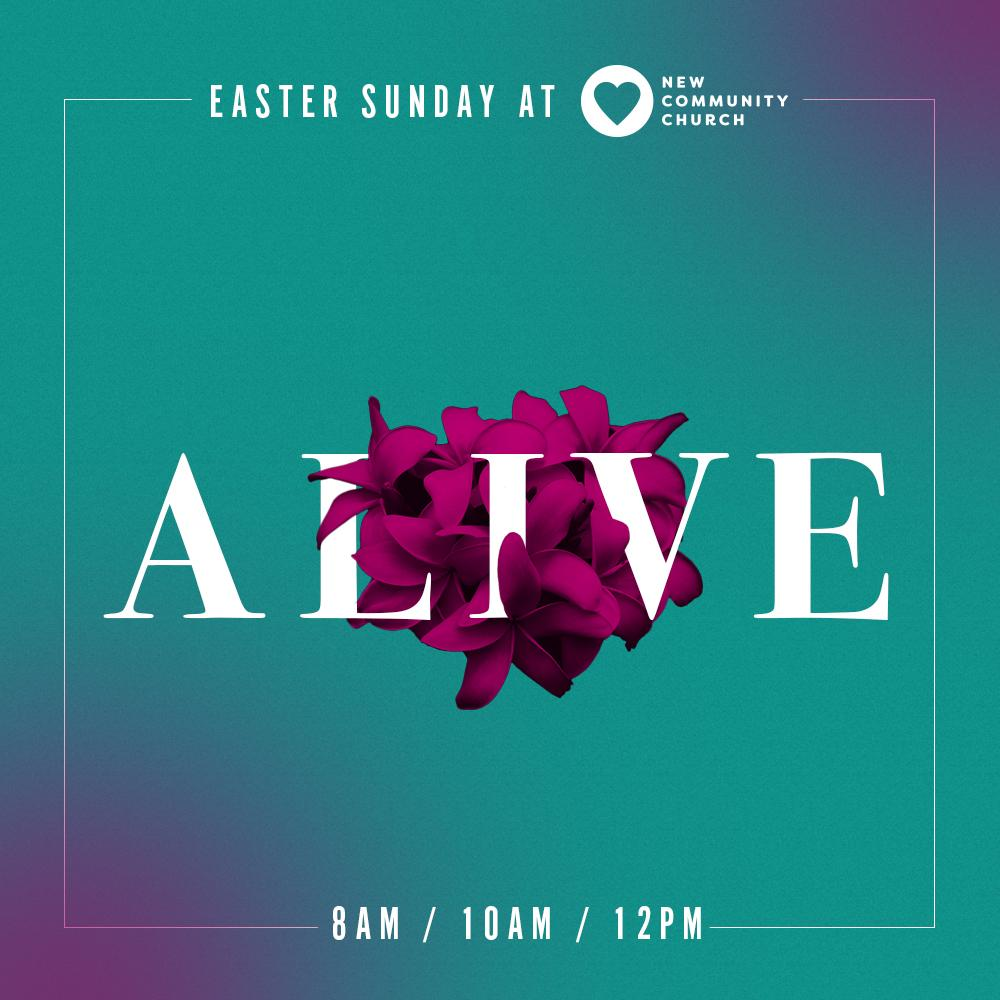 Easter Branding for<br>New Community Church