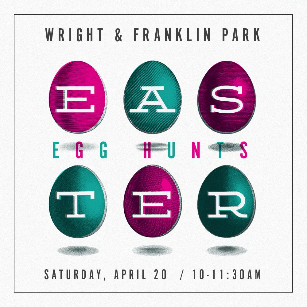 Easter Egg Hunt branding for<br>New Community Church